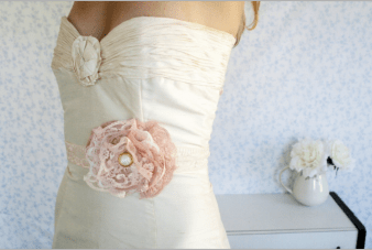 Little White Dresser-Vintage Bridal Accessories Collection