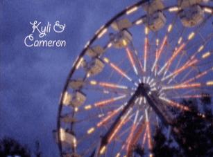 A Super 8mm Amusement Park Love Story {First Kiss Films}