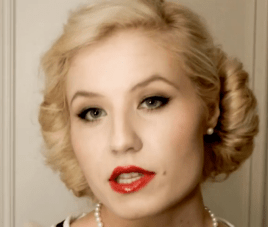 Authentic 1950s Make Up Tutorial {Sunday Beauty School}