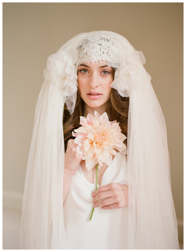 Veil Wild feathery headpiece as above or even better a long lace gypsy
