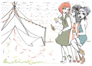 Hen Do? Honeymoon? Go Glamping! {Def: Glamourous Camping}