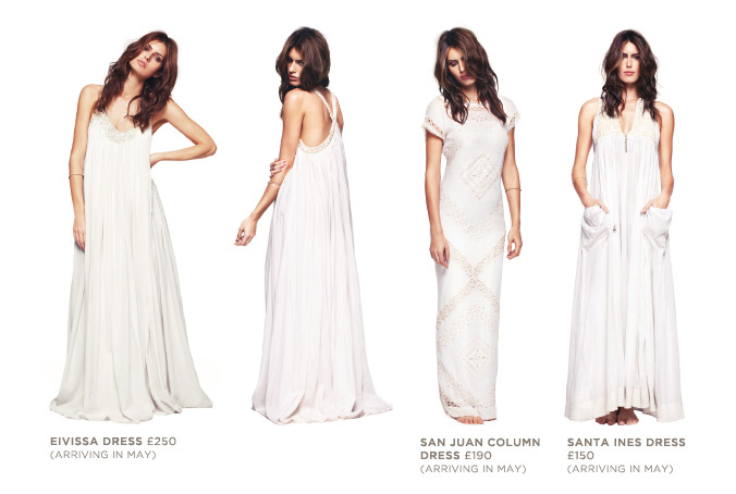 I love this relaxed take on bridal gowns the flowing Eivissa dress reminds