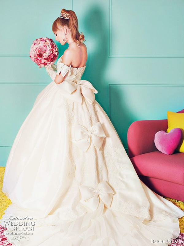 The Barbie Bridal Collection {Lifesize!}