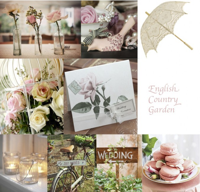 English Garden Wedding Ideas: English Country Garden Wedding Inspiration By Lovely