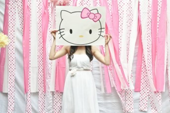 A Very Pink, 'Hello Kitty' Bridal Shower