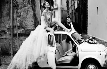 Glamourous Italian Wedding Editorial