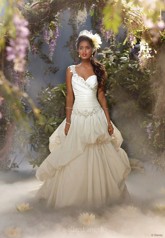 Disney wedding dresses belle alfred angelo