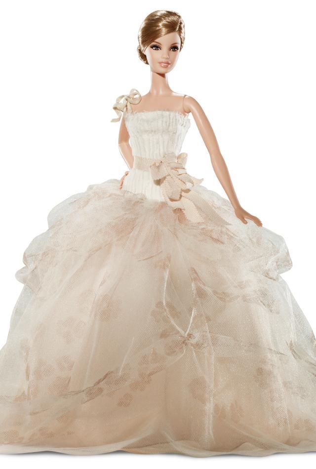 barbie wears all the best designer wedding dresses bridal musings