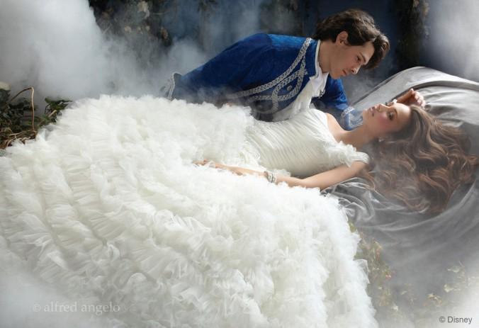 Cinderella Wedding Dress Scene : Disney fairytale wedding dresses by alfred angelo bridal