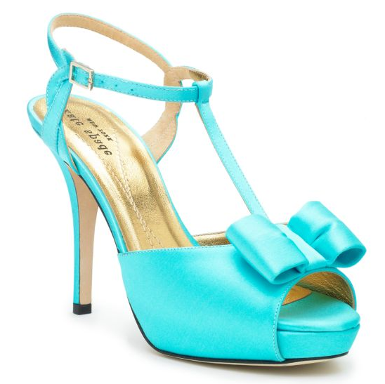 Turquoise Wedding Heels: Tuesday Shoesday: Something Blue {Well, Turquoise