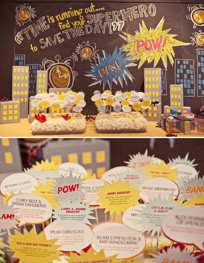 Super Hero Themed Wedding Ideas Kapow Bridal Musings