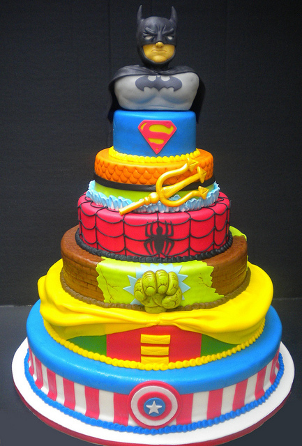 superhero wedding cake ideas themed wedding ideas kapow bridal musings 20606