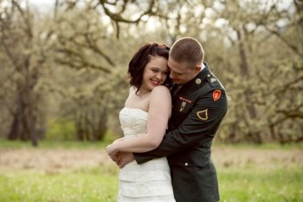 A Romantic, Military Engagement Shoot: Uniforms & Love Letters