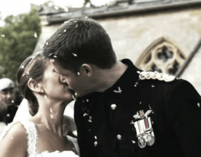 Military Wedding Film In The English Countryside
