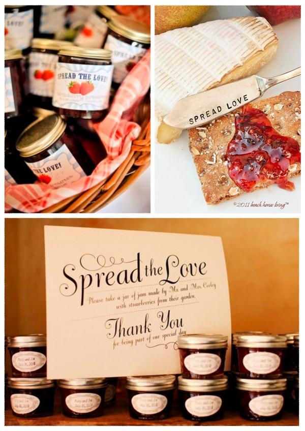 Spread The Love Jam Favour DIY Tutorial Round Up