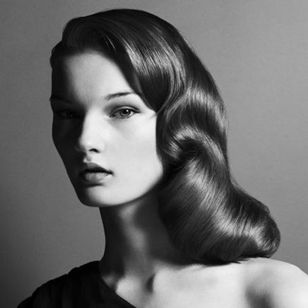 Hair News Network: Bridal Hair: Vintage Waves