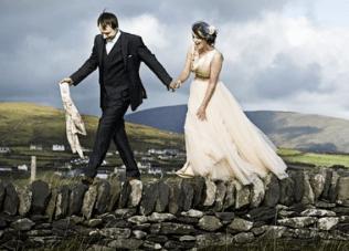 Beautiful, Quirky, DIY Wedding: The Bride Didn't Wear White {2}