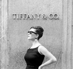 Breakfast At Tiffany's Hair Tutorial: The Chic Up Do