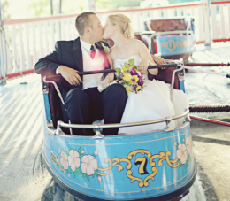 A Rustic Wedding Filled With Vintage Charm & Fairground Rides