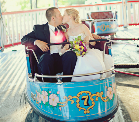 fairground wedding | sarah vaughan photography