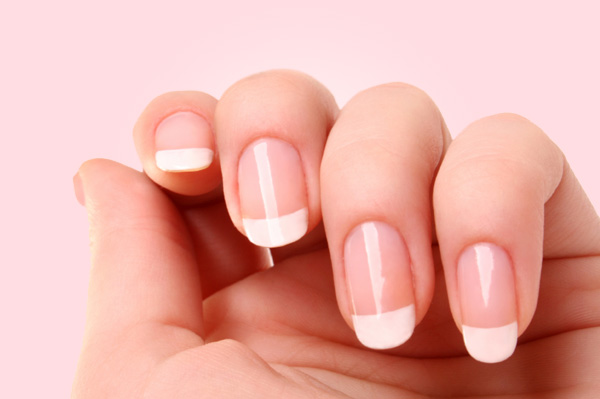 French manicure vs red