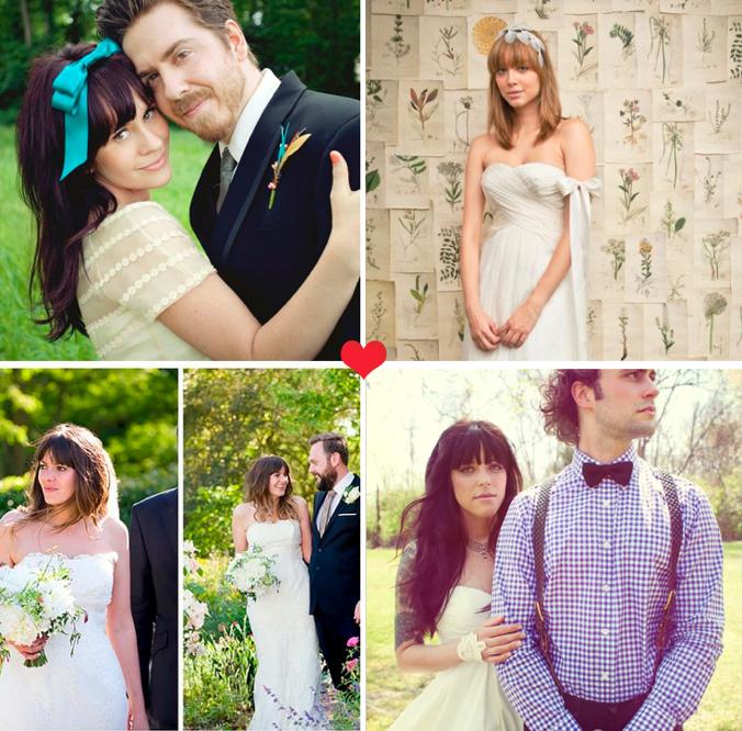Wedding Hairstyles With Bangs: She Bangs! Beautiful Brides With Bangs