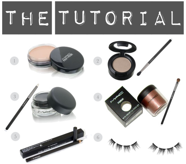 Smokey Eye Bridal Tutorial