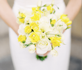 Scottish Sunshine Wedding: Yellow Roses & Charcoal Grey Tartan {2}