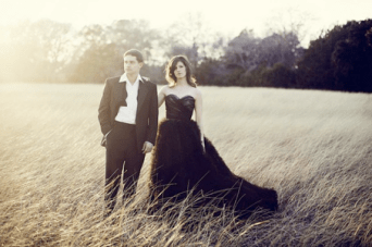Black Magic: Would You Wear A Black Wedding Dress?