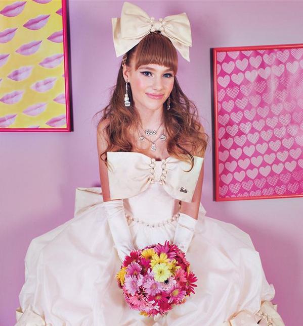 Life Size Barbie Wedding Cake