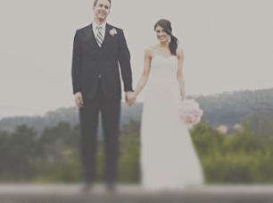 Moss Green, Grey & Pale Pink San Francisco Wedding {Part 2}