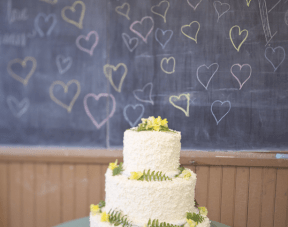 Chalkboard Love: Sweet And Playful, Vintage School House Wedding Part 2