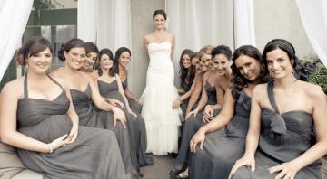 Oh So Elegant Grey & Pastel Hued Wedding