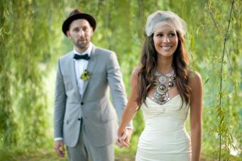 Make A Statement: The Bridal Statement Necklace