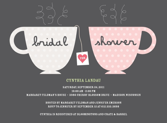 Tea Party Bridal Shower Inspiration, Ideas & A Real Bride's Tea ...