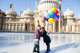 Brighton Up: A Colourful & Quirky Seaside Engagement Shoot