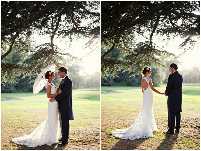 Vintage inspired english wedding and a lace wedding dress 2