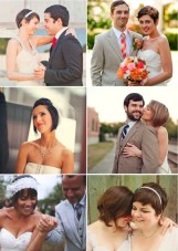 Short And Chic Hairstyles For Brides