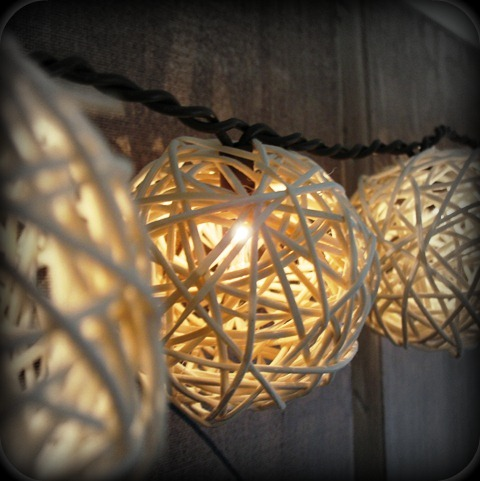 String Lights Wedding Diy : , Festive DIY String Lights.