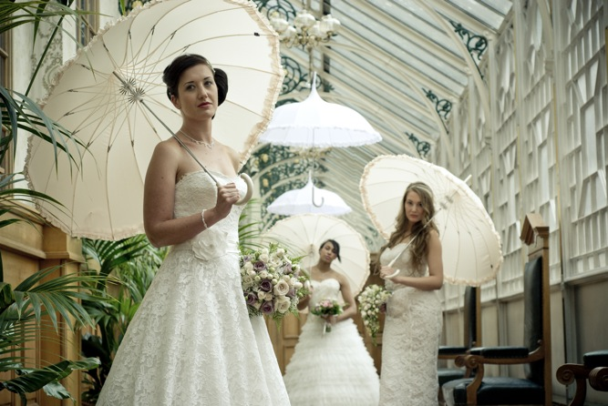House Of Fraser Wedding Gifts: Romantic Vintage Lace Wedding Dresses Inspiration Shoot