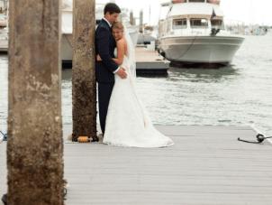 Nautical, Preppy Chic California Wedding