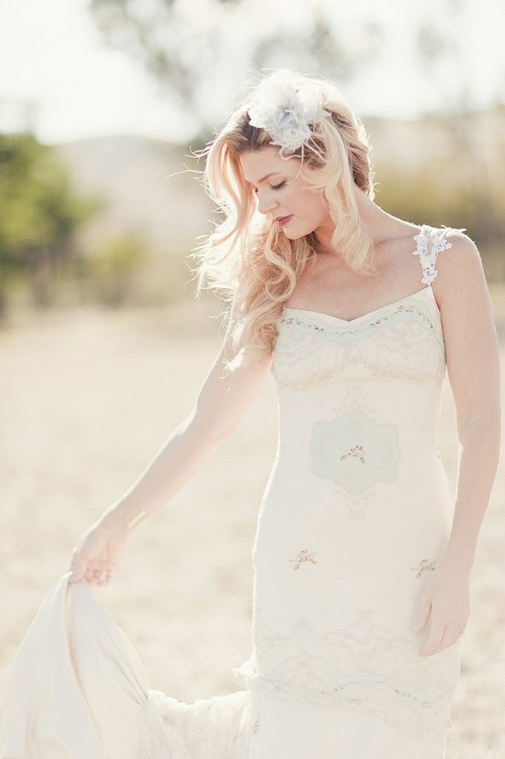 Claire Pettibone Ooh La La wedding dress Brancoprata