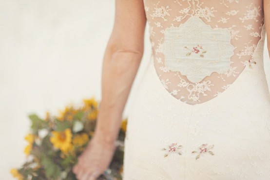 Claire Pettibone Ooh La La wedding dress detail Brancoprata
