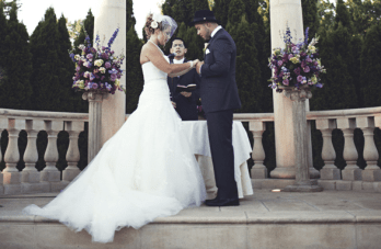 Musical DIY Wedding In New Jersey With Vintage Style