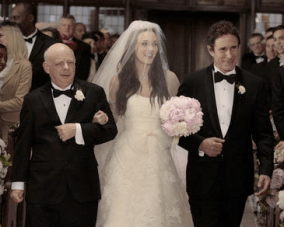The Gossip Girl Wedding: Vera Wang, Blush Pink & Dodgy Hair