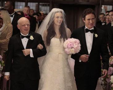 Gossip Girl Wedding, Blair Waldorf bride, Vera Wang dress