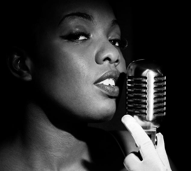 Jazz inspired, eco chic engagement shoot