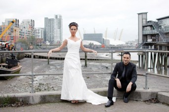 Urban Wedding Inspiration Shoot in London