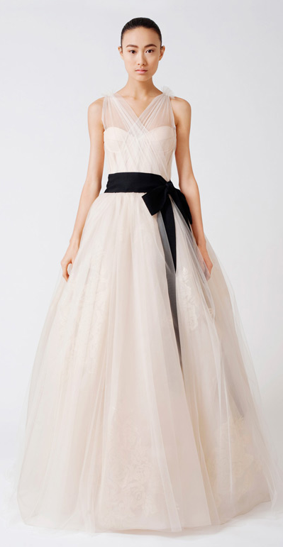 Vera Wang wedding dress Emmeline