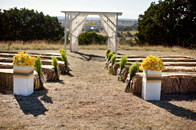 Modern, Rustic, Vintage, Yellow u0026 Grey Ranch Wedding